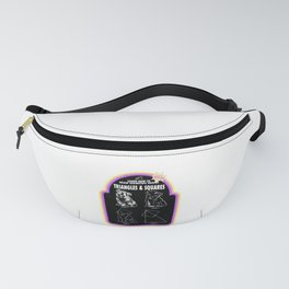 Learn to Draw Triangles & Squares Fanny Pack