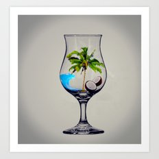 MixMotion: Tropical Drinks Art Print