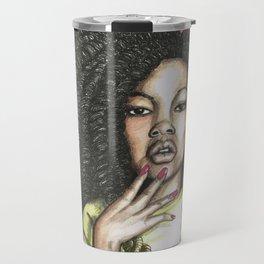 ghetto curls  Travel Mug