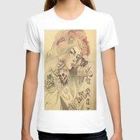 mucha T-shirts featuring mucha chicano by Paolo Zorzenon