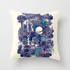 Biodiverse Throw Pillow