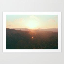 Northern Minnesota Sunsets Art Print