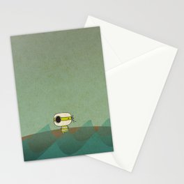 Little Green Pirate Stationery Cards