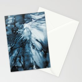 Blue Ocean | Sea Abstract | Nature Art | Painting by Magda Opoka Stationery Cards