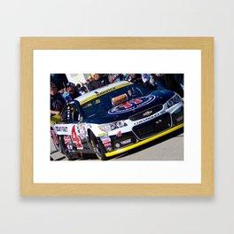 Freaky Fast Car Framed Art Print