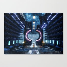 Poster - Temple Canvas Print