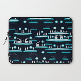 Snowy Cabins Laptop Sleeve