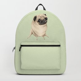 Sweet Fawn Pug Backpack