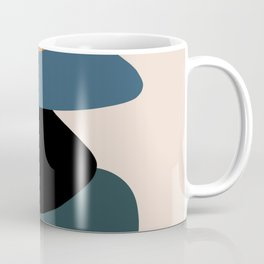 teal sunrise 3 Coffee Mug