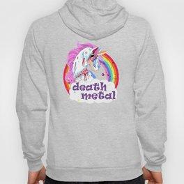 Zombie Unicorn Death Metal Hoody
