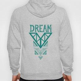 Dream- Turquoise arrow Hoody