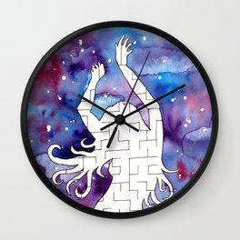 a maze Wall Clock