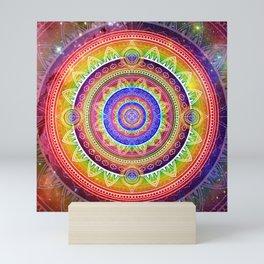 Cosmic Journey Mandala Mini Art Print