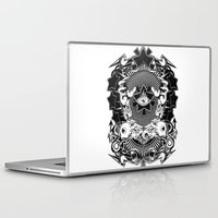 all seeing eye Laptop & iPad Skins featuring All seeing eye by Tshirt-Factory
