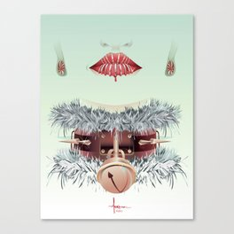 HOLIDAY SMILE Canvas Print