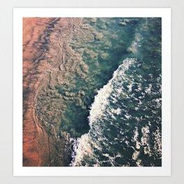 Gradient of the Sea Art Print