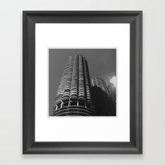 Marina Towers Framed Art Print
