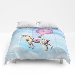 Flying Llama Comforters