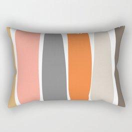 Kaoru Color Stripes Rectangular Pillow