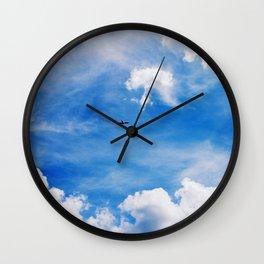 Flying Away - Airplane  Wall Clock