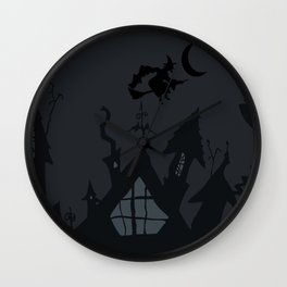 NIGHTMARE WITCH Wall Clock