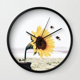 Music to my eyes II Wall Clock