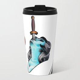 Sword Swallower Travel Mug