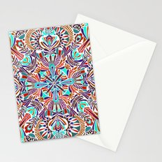 Flower explosion Stationery Cards