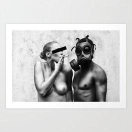 Contamination II Art Print