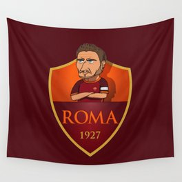 TOTTI ROMA Wall Tapestry