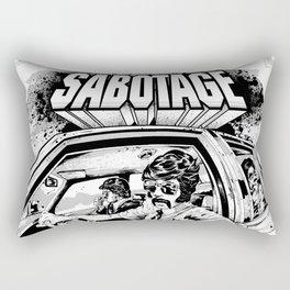 Sabotage Rectangular Pillow