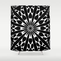 elegant Shower Curtains featuring Elegant by Abstracts by Josrick