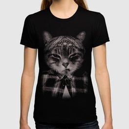 Gangster Cat (Platinum) T-shirt