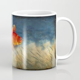 Floating red fish Coffee Mug