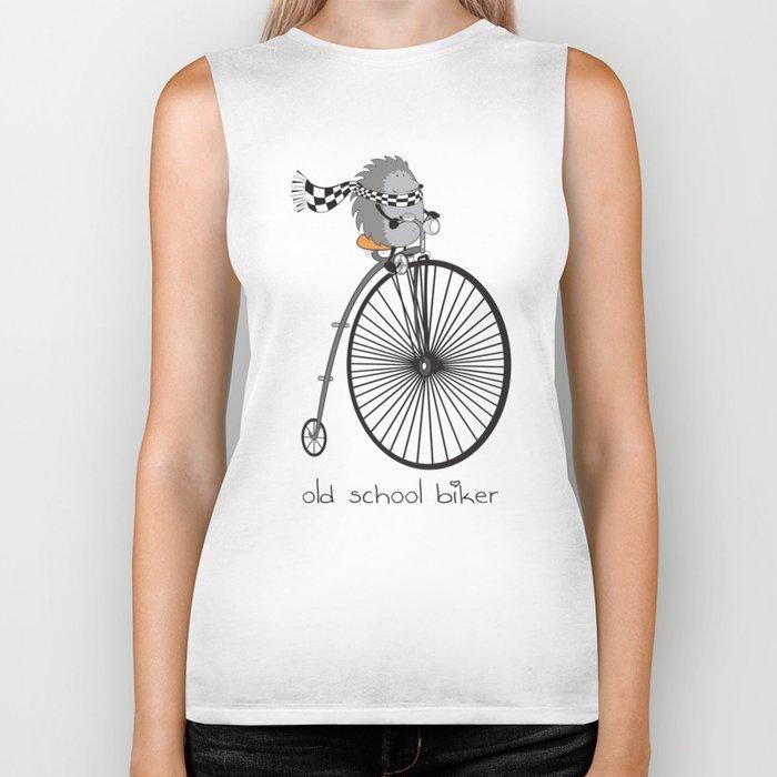 old school biker Biker Tank