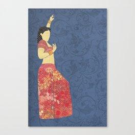 Belly dancer 5 Canvas Print