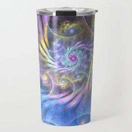 fractal: spiralling soul Travel Mug