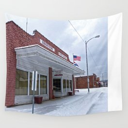 City Hall - Ironton, Missouri Wall Tapestry