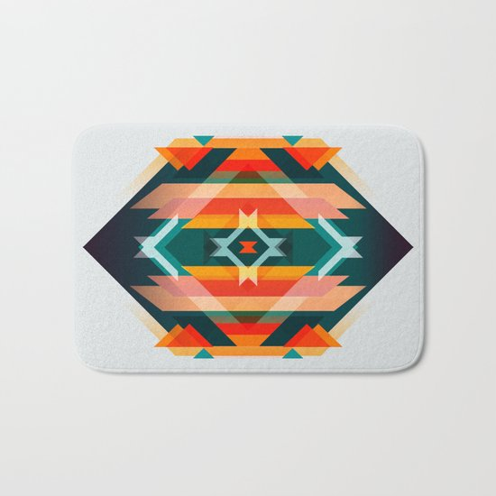 Broken Diamond - Incalescence Bath Mat