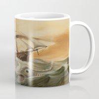 western Mugs featuring Great Western by skot olsen