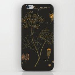 Dill (Dark Background) iPhone Skin