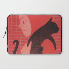 Cat will save the world_! Laptop Sleeve
