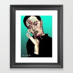 Bruna Signs and Sigils Framed Art Print
