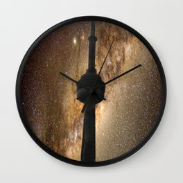 CN Tower Galaxy Wall Clock