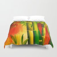 bamboo Duvet Covers featuring Bamboo by OLHADARCHUK