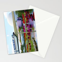Epcot Icons Stationery Cards