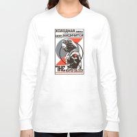 propaganda Long Sleeve T-shirts featuring Propaganda by Shop 5