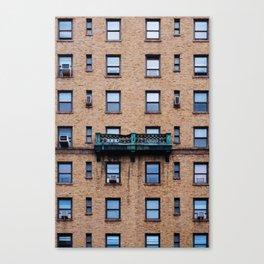 FACADES OF NY - 03 Canvas Print