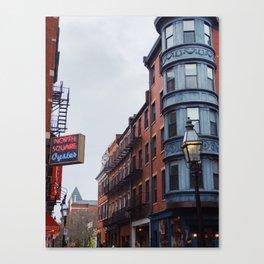 Boston's Cannoli District Canvas Print