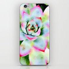Watercolor Succulent iPhone & iPod Skin
